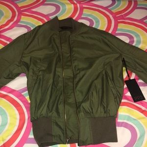 Army green bomber!